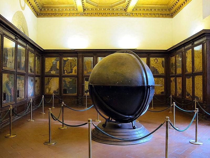 La Sala delle carte geografiche di Palazzo Vecchio sarà restaurata. Al via i lavori a primavera