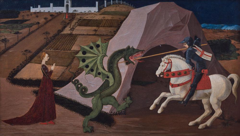 Riapertura con ospite speciale a Palazzo Cini: il San Giorgio e il drago di Paolo Uccello