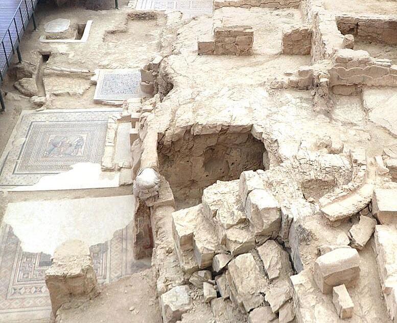 Turchia, tornano alla luce due camere rupestri a Zeugma nella Casa delle Muse