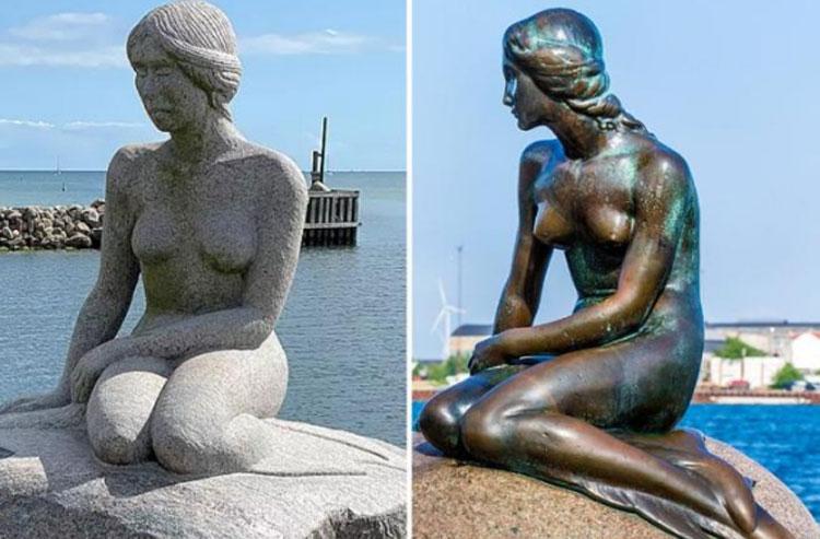 Due Sirenette in Danimarca non ci possono stare: è battaglia legale