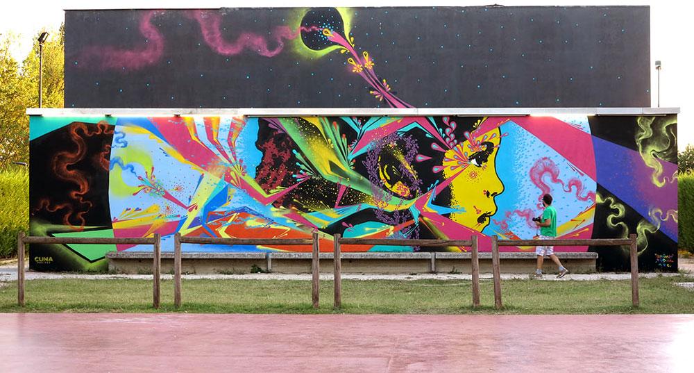 Street art, una mappa digitale per visitare oltre 300 luoghi di arte urbana in Emilia Romagna