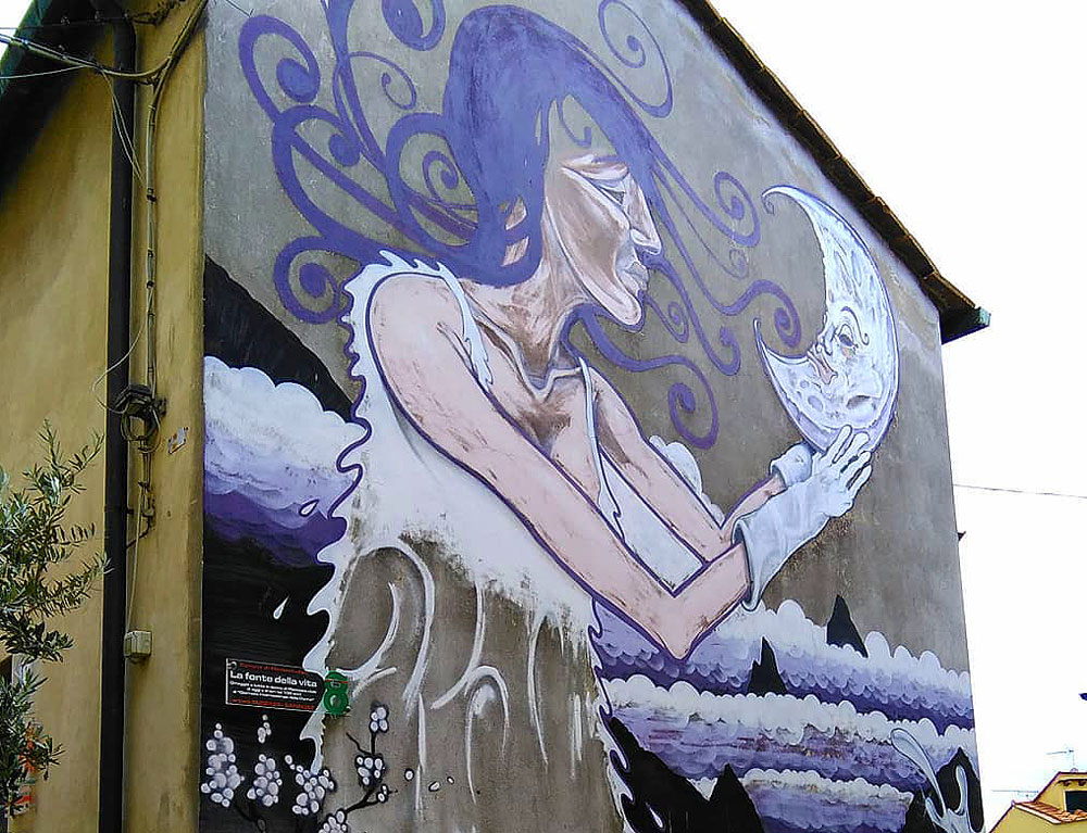 Street art nei piccoli borghi della Toscana: una legge potrebbe sostenerla
