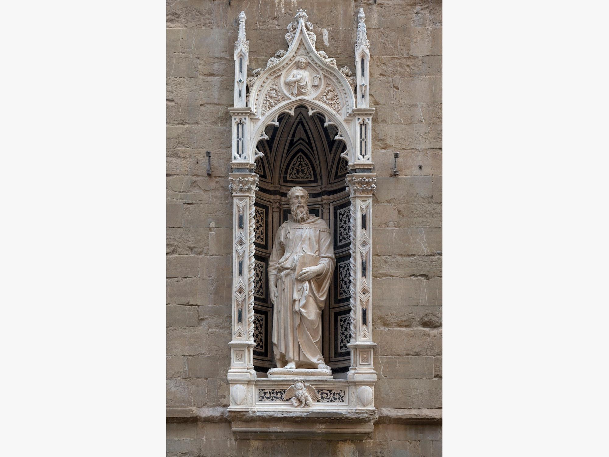 Firenze, restaurato il Tabernacolo dei Linaioli in Orsanmichele