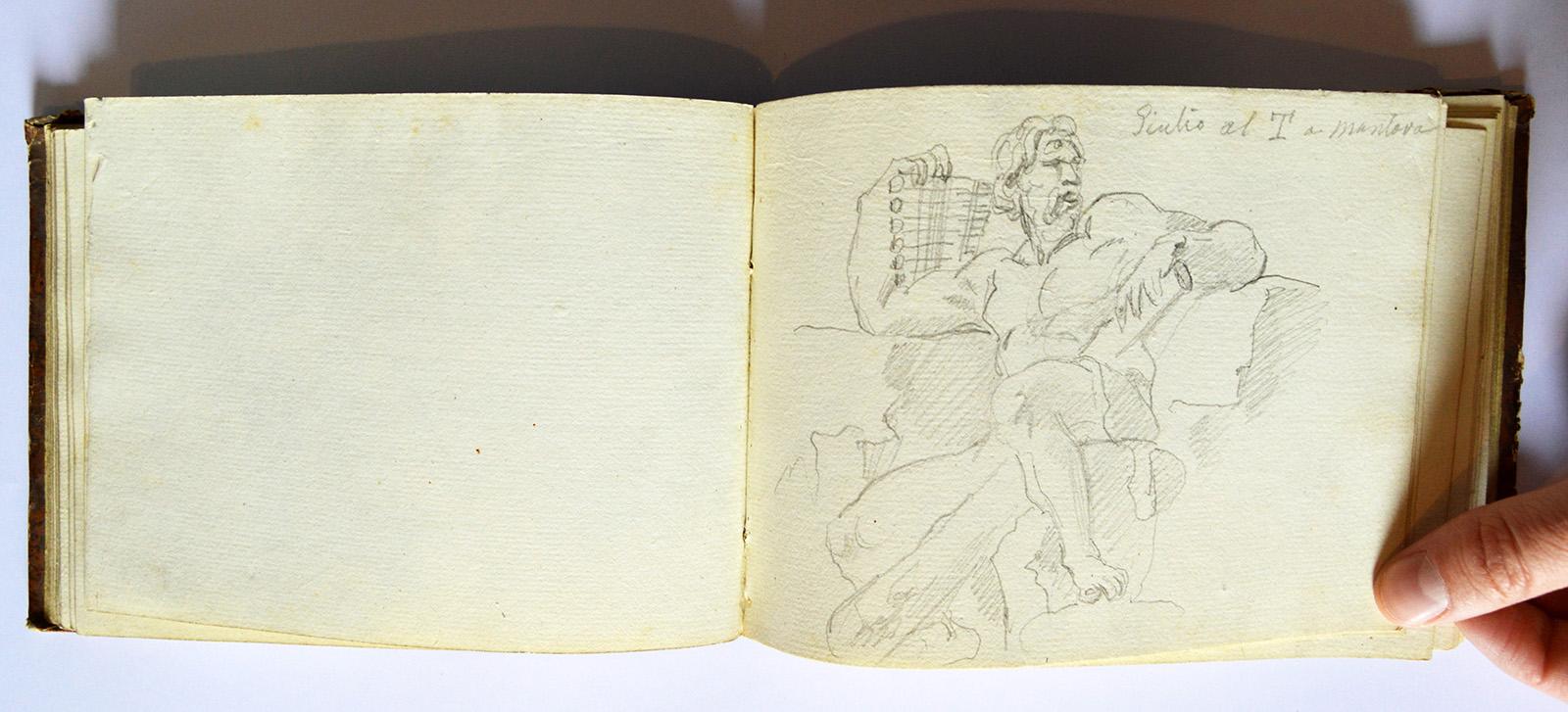 Mantova, donato a Palazzo Ducale prezioso taccuino ottocentesco: chi sarà l'autore?