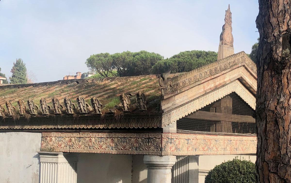 Roma, restauro per il Tempio di Alatri, l'avveniristica ricostruzione del tempio etrusco-italico