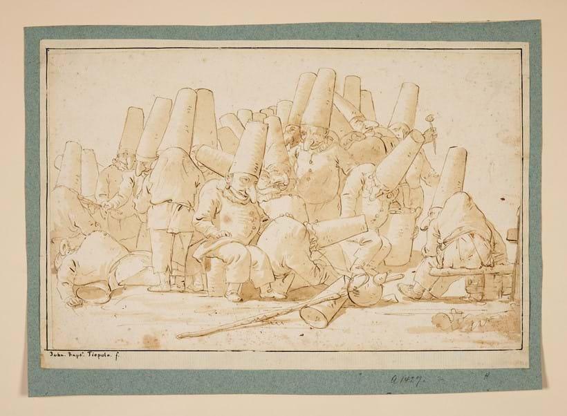 Inghilterra, trovato un disegno di Tiepolo nel soffitto di un castello