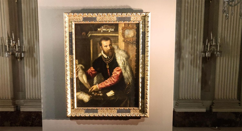 Un ospite a Palazzo Pitti: da Vienna arriva il Ritratto di Jacopo Strada di Tiziano