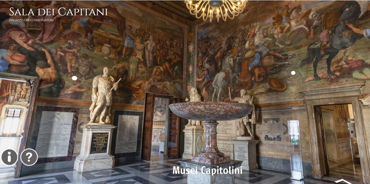 Roma, ecco i tour virtuali dei Musei Civici