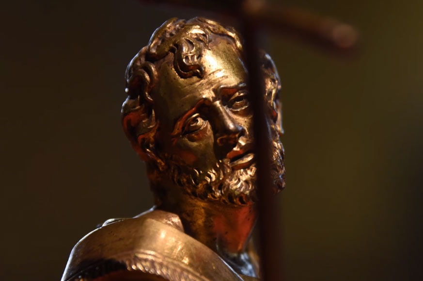 Trento, ritrovati due preziosi apostoli bronzei del '600: tornano al Buonconsiglio dopo 200 anni