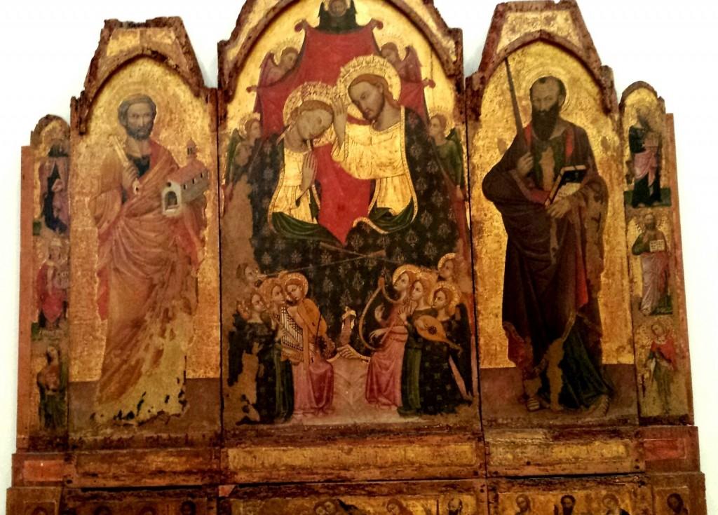 Palermo, trittico del XV secolo di Palazzo Abatellis restaurato in diretta streaming