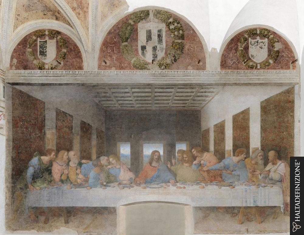 L'Ultima Cena in gigapixel: viaggio virtuale tra i dettagli della tavola imbandita