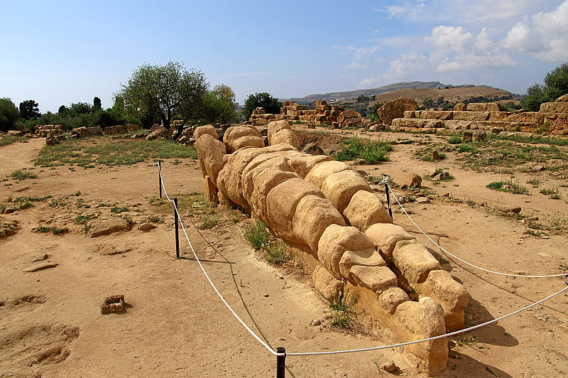 Valle dei Templi, l'area del tempio di Giove Olimpio tornerà a risplendere