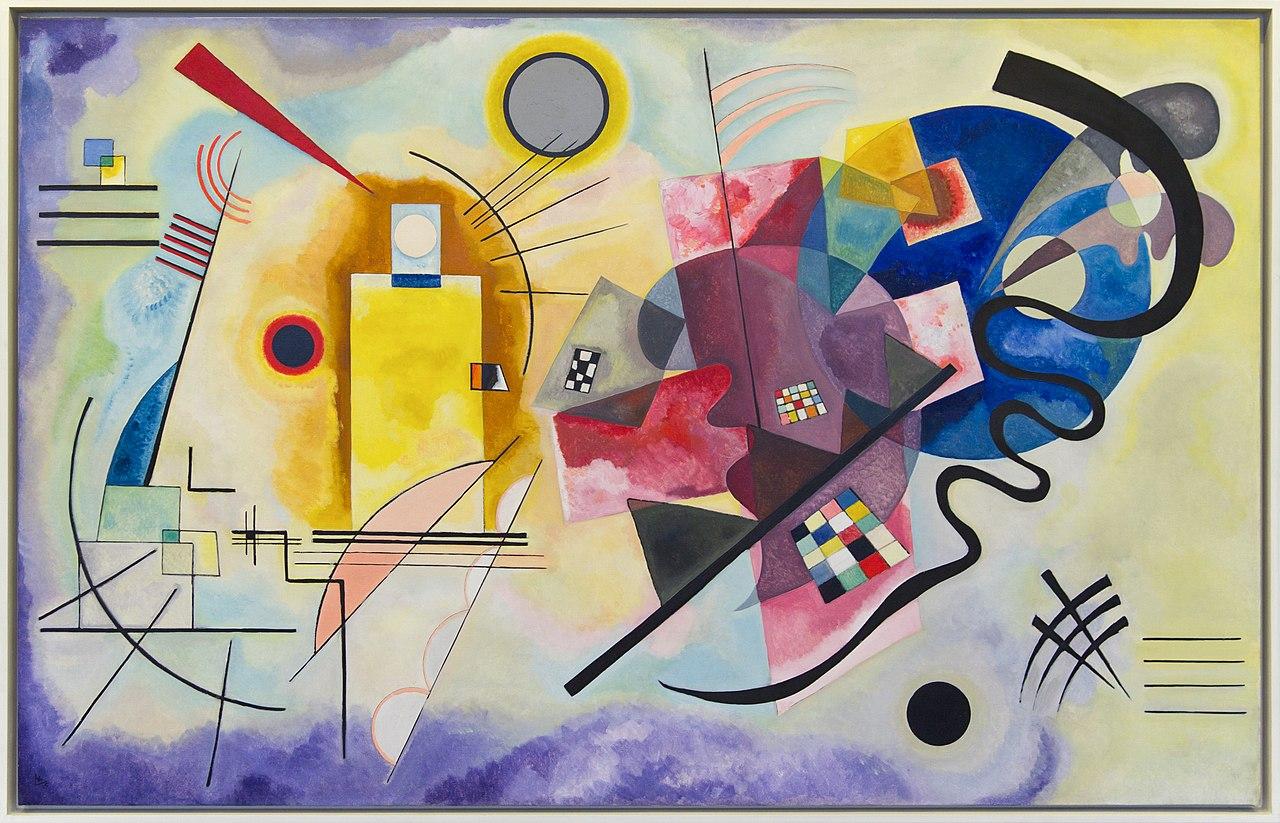 Nasce un progetto di Google che vi fa sentire il suono dei colori di Kandinskij