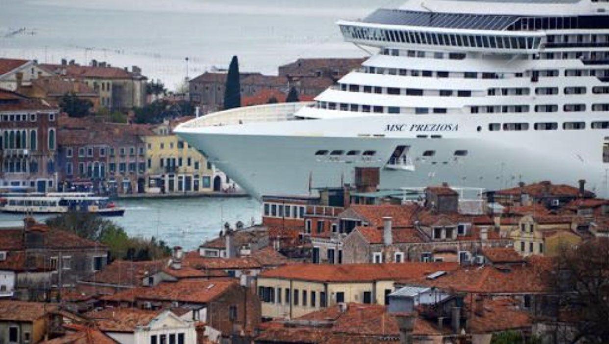 Il governo Draghi impone lo stop alle grandi navi nella laguna di Venezia