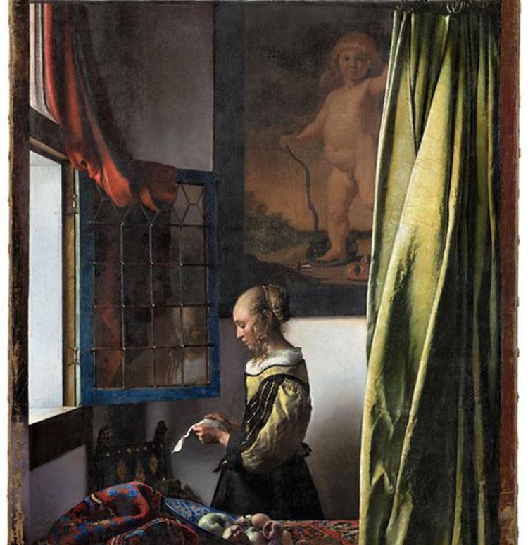 A Dresda per la prima volta esposto il Vermeer restaurato che ha rivelato il Cupido nascosto