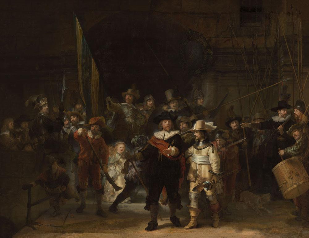Completata la ricostruzione della Ronda di notte: ecco come era la versione originale di Rembrandt