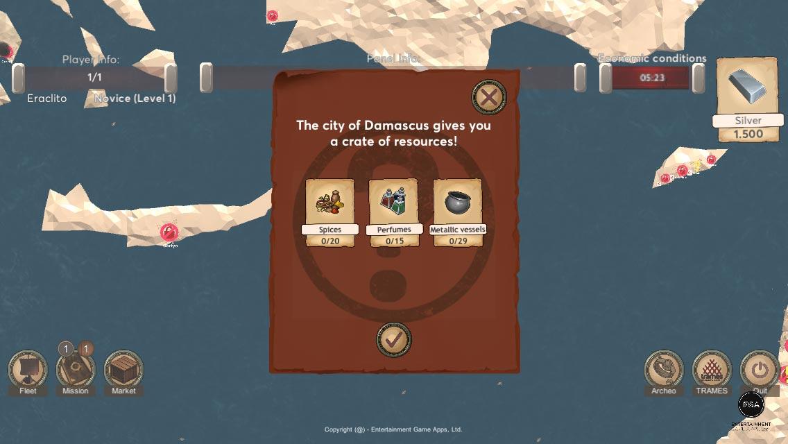 """Nasce un videogioco che vi fa seguire le rotte dei fenici: """"Mediterranean 1200 BC"""""""