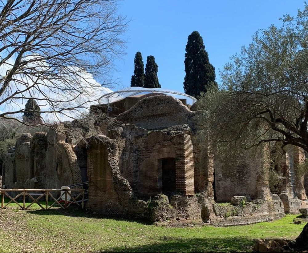 Di nuovo accessibili, dopo il restauro, le Piccole Terme e gli Hospitalia di Villa Adriana a Tivoli