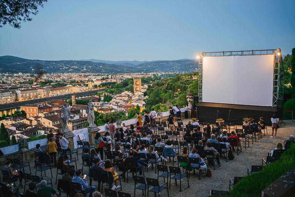 Firenze, torna il cinema sotto le stelle sulla Terrazza di Villa Bardini