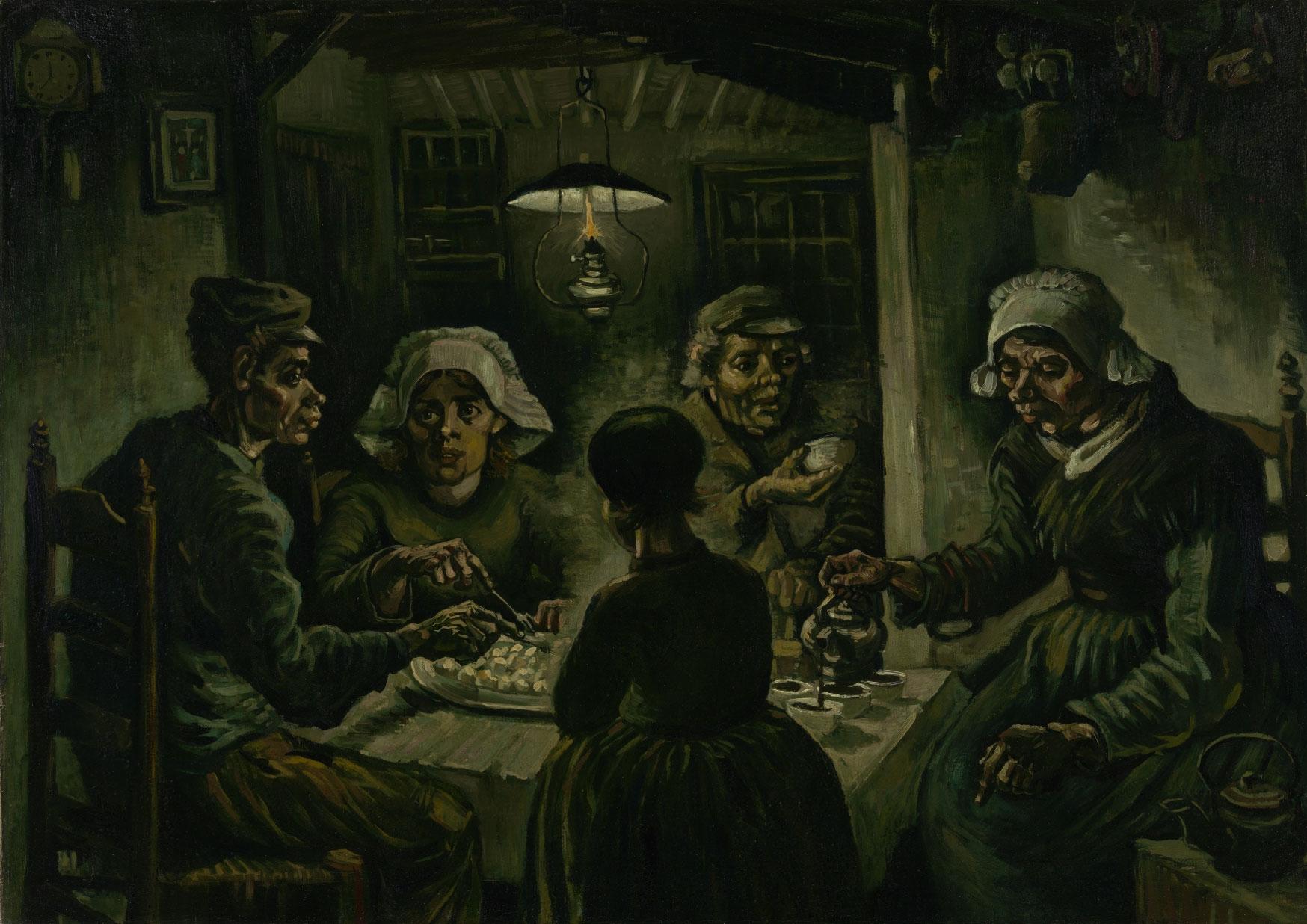 Al Van Gogh Museum di Amsterdam una mostra-dossier sui Mangiatori di patate