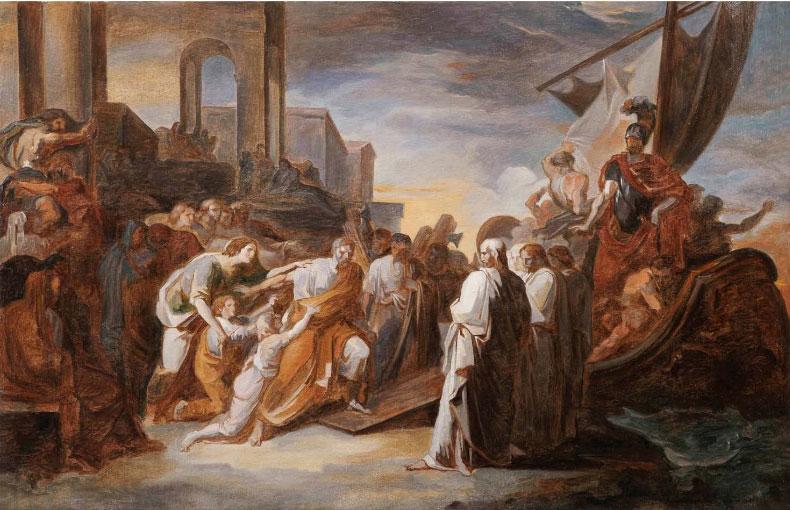 Una mostra internazionale a Roma e Parigi approfondisce Vincenzo e Giovanni Battista Camuccini
