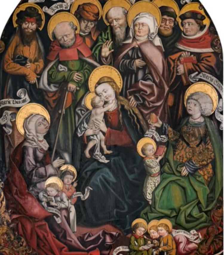 I diversi volti di sant'Anna, da donna emancipata a invecchiata e imbruttita. A Trento una mostra sul tema